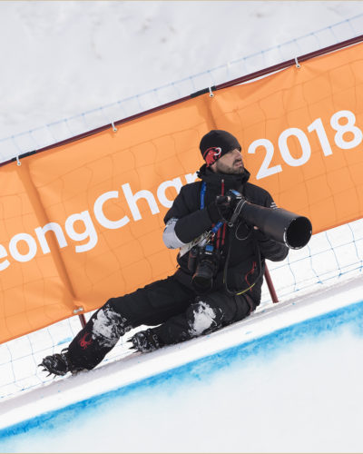 PYEONGCHANG-GUN, SOUTH KOREA - FEBRUARY 21: Elana Meyers Taylor on February 21, 2018 in Pyeongchang-gun, South Korea. (Photo by Maja Hitij/Getty Images)